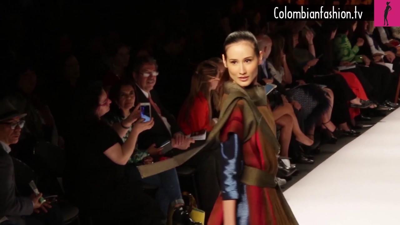Adriana Santacruz y lo que representó el Bogotá Fashion Week