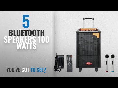 Top 10 Bluetooth Speakers 100 Watts [2018]: Wizzit 12 Inch Professional Karaoke Bluetooth PA System