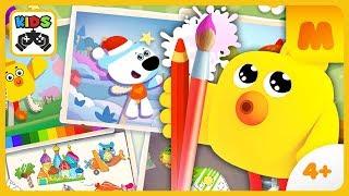 Мимимишки * Живые рисунки в игре для детей Ми-ми-мишки: Рисование * Играем на iOS и Android