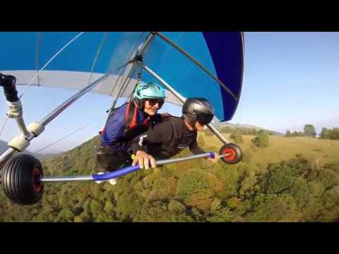 Tandem hang gliding flights - Garda Flying Paradise