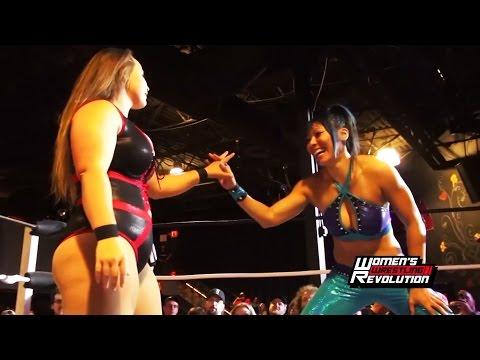 [Free Match] Mia Yim (Jade) vs. Jordynne Grace   Women's Wrestling Revolution #Revolutionary (TNA)