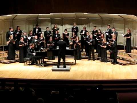 UWO Chamber Choir- i carry your heart with me, David Dickau