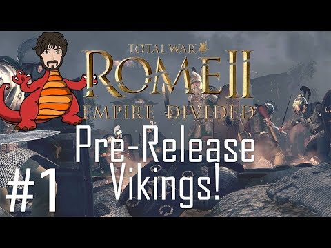 Total War: Rome 2 - Empire Divided | Saxoni Viking Dominance #1