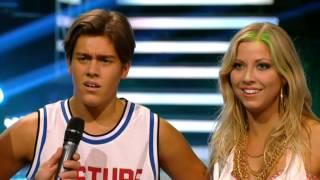 Benjamin Wahlgren och Sigrid Bernson -  hiphop - Let's Dance (TV4)