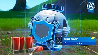 "NOUVEAU ""Shield Bubble"" Gameplay! Code d'utilisation: parArteer (Fortnite X Borderlands Event LIVE)"