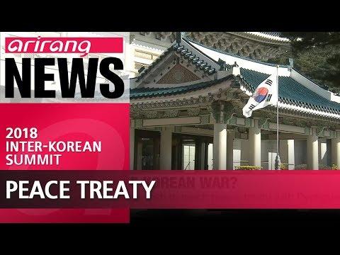 Seoul looks for ways to turn armistice agreement into peace treaty with North Korea: Cheong Wa Dae