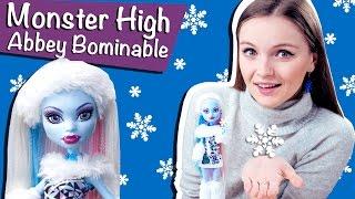 Abbey Bominable Basic (Эбби Боминейбл Базовая) Monster High Обзор и Распаковка \ Review V7988