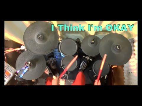 I Think I'm Okay - Machine Gun Kelly, YUNGBLUD, Travis Barker - Drum Cover   by Sasuga drums