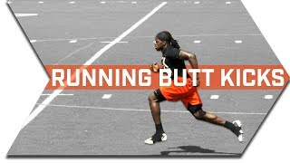 SPRINT TECHNIQUE - RUNNING BUTT KICKS - RUN FASTER