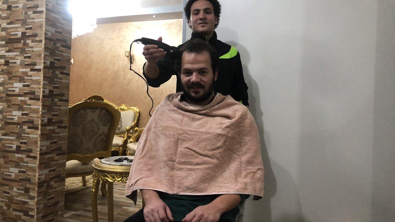 الكورونا و الحلاقه و ربنا يستر
