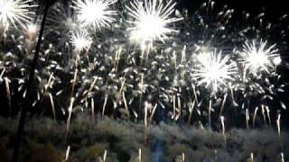 The opening of 9th Liuyang International Fireworks Festival segment