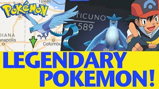 Pokemon GO Legendary Articuno IN GAME - The REAL Story!