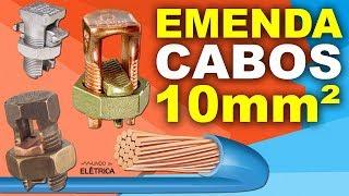 Como EMENDAR CABOS de 10mm² ✔️