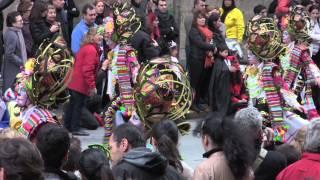 Las Monjas (5) - Desfile de comparsas 2014 Carnaval de Badajoz