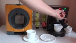 видео Чем отличается кофеварка от кофемашины и что лучше