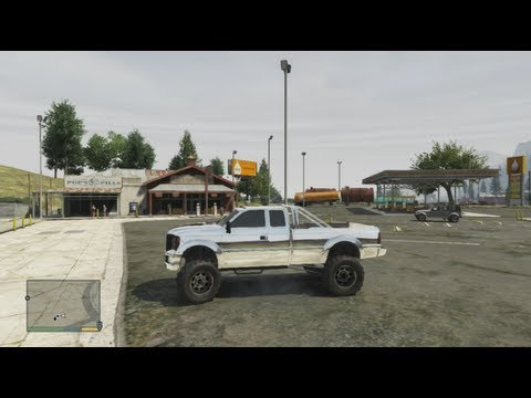 gta 5 lifted truck exact location and upgrades grand theft auto 5 for pros youtube. Black Bedroom Furniture Sets. Home Design Ideas