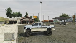 GTA 5: Lifted Truck Exact Location And Upgrades (Grand Theft Auto 5 For Pros)