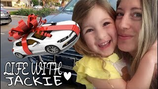 I GOT A NEW CAR | BEST BIRTHDAY GIFT EVER | A DAY IN MY LIFE | LIFE WITH JACKIE FAMILY VLOGS