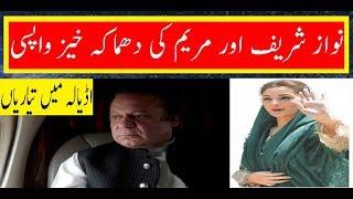 Nawaz Sharif declared a return