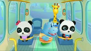 Baby Bus Game - Baby Panda&#39s School Bus - Let&#39s Drive - Brain Game