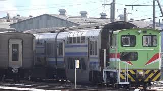 E217系クラY-44編成入場-構内移動 長野総合車両センター