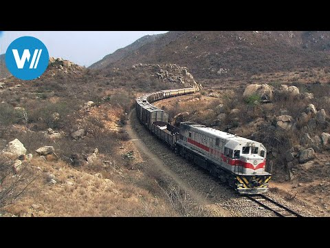 Die legendäre Benguela-Bahn in Angola