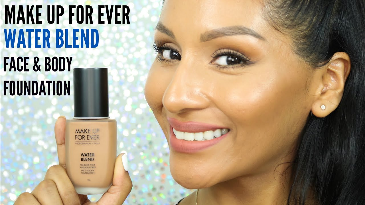 1ST IMPRESSION/DEMO MUFE WATER BLEND FACE U0026 BODY FOUNDATION FOR TAN SKIN | BEAUTYBYMARIELA ...