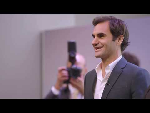 Roger Federer Inspiring Zurich
