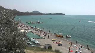 Нудисткий пляж в Коктебеле .(Мой отдых в Коктебеле ., 2013-10-11T19:25:41.000Z)