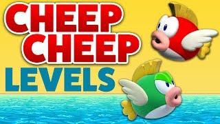 Super Mario Maker - CHEEP CHEEPS! - Enemy Creation Challenge [#13]