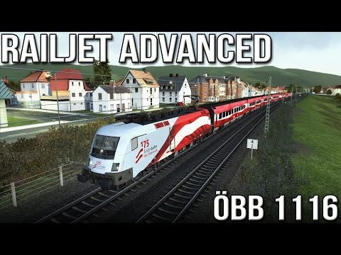 "Railjet Advanced -  ÖBB 1116 ""Taurus"" (Train Simulator 2016)"