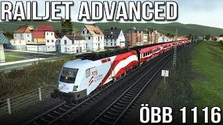 """Railjet Advanced -  ÖBB 1116 """"Taurus"""" (Train Simulator 2016)"""