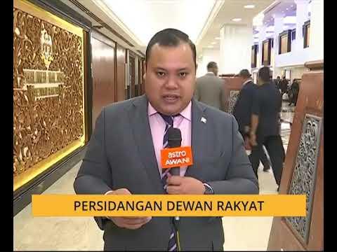 Hari ketiga persidangan Dewan Rakyat