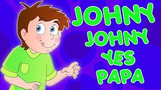 johny johny oui papa | rime pour enfants | johny johny chanson | Johny Johny Yes Papa | Kids Rhymes