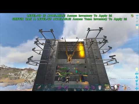 ARK Official PVP: Raid 385 BLPP/BLDX
