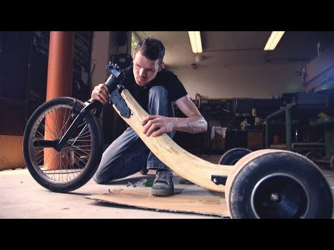 Building WORLDS FIRST REAL  OAKEN WOOD Drift Trike!!!