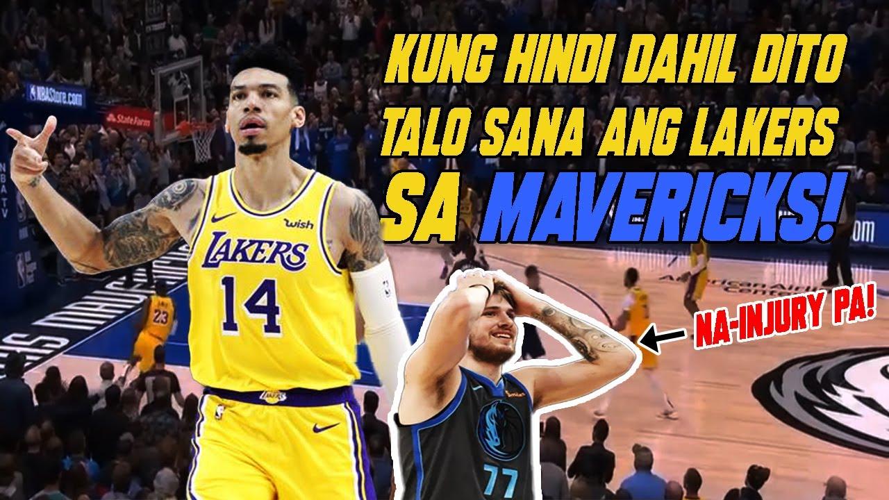 Foul Ba To Ang Play Na Nag Panalo Sa Lakers Kontra Dallas November 2 2019