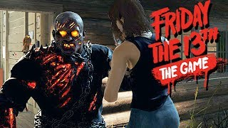 Friday The 13th The Game Gameplay German - Super Auto Action