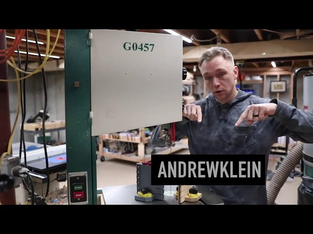 Build or 3D Print a Bandsaw Featherboard and Roller Guide | Magswitch Technology