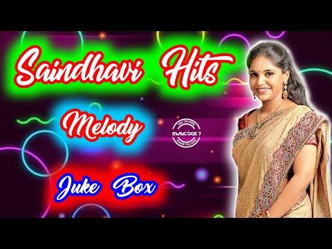 Saindhavi Hits Vol - 1   Melody   Tamil Songs   Juke Box   Music Box 7