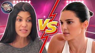 Kourtney Kardashian & Kendall Jenner HUGE Fight?
