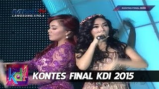 """Zaskia Gotik feat Denada """" Goyang Dumang """" Kontes Final KDI 2015 (11/5)"""
