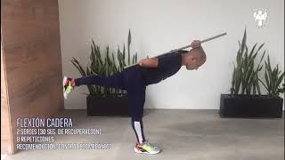 Nuestro Preparador Físico, Javier Flores, te trae los mejores ejercicios que puedes hacer durante esta Cuarentena.