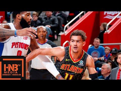 Atlanta Hawks vs Detroit Pistons Full Game Highlights | 12/23/2018 NBA Season