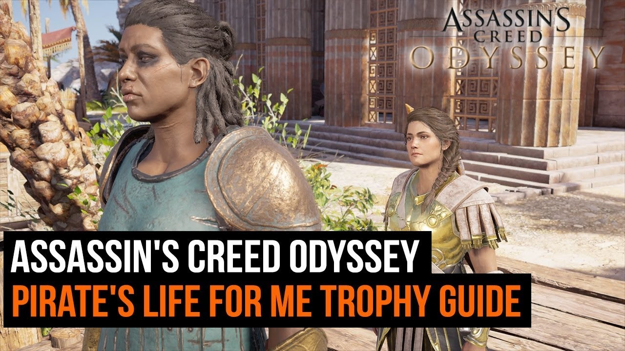 Assassin's Creed Odyssey - Pirate's Life for Me trophy guide - Xenia Treasure Hunt