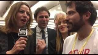 Lara Comi ed Elisabetta Gardini cantano al Karaoke di Radio Rock 106.6