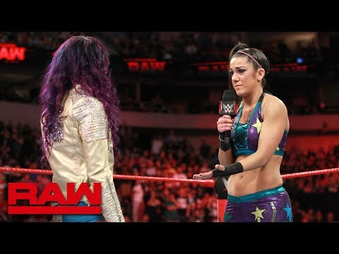 Bayley is still angry at Sasha Banks: Raw, March 19, 2018