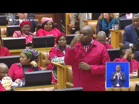 EFF Calls Minister Des van Rooyen Useless FUNNY