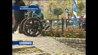 Инвалидам из Пушкино магазины и аптеки недоступны