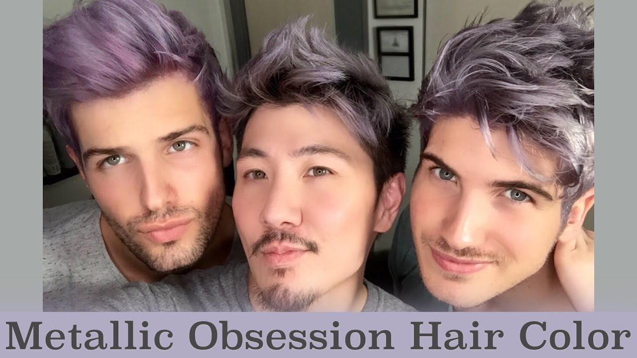 Metallic Obsession Hair Color Youtube